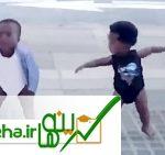رقص نوزاد درون به سبک هالیوود با موزیک مایکل جکسون