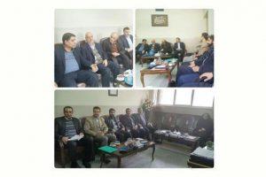 بازدید معاون پرورشی اداره کل آموزش و پرورش استان اصفهان و مسئولین ادارات از ناحیه ۶