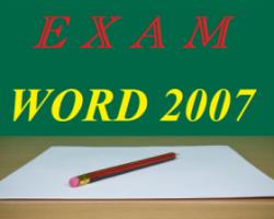 آزمون آنلاین و تستی Office Word 2007/ بهترین سوالات ورد ۲۰۰۷